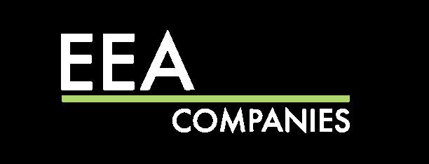 EEA Companies logo bw sans trees_White
